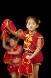 Little chinese dancer Royalty Free Stock Images