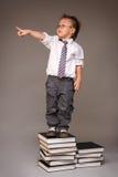 Little Chinese entrepreneur Royalty Free Stock Image