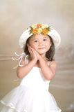 A little chinese girl Stock Photo