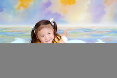 A little chinese girl Stock Images