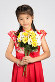 Little  chinese girl Royalty Free Stock Photography