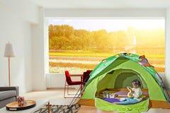 Camping indoor