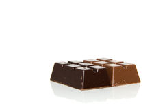 Little chocolate bars Royalty Free Stock Photo