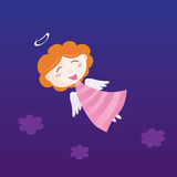 Little christmas angel Royalty Free Stock Images