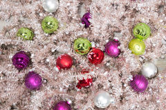 Little christmas balls Royalty Free Stock Photo