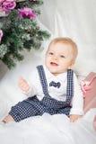 Little christmas boy Stock Photography