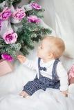 Little christmas boy Royalty Free Stock Photo