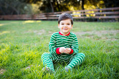Little Christmas boy Royalty Free Stock Photos