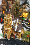 Little christmas church. Royalty Free Stock Photography