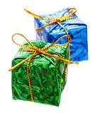 Little christmas gifts Stock Images