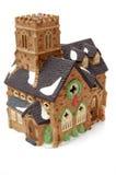Little christmas themed church home Stock Photos