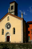 Little church. In Torno By lake Como Stock Images