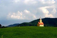 Little church in Austria Royalty Free Stock Photo