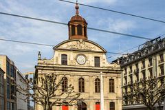 Little church in the center of Geneva Royalty Free Stock Photography