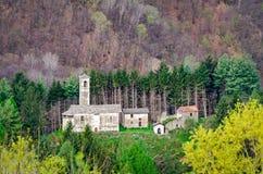 Little church near Peglio Royalty Free Stock Photography