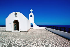 Little church in Rhodes ,Greece Stock Photo