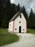 Little church in Vallongia Stock Image