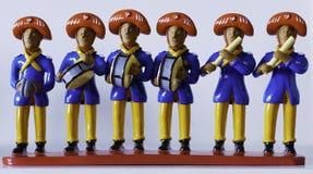 Bonecos de Barro, Olinda, Brazil stock images