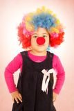 Little clown Stock Photos