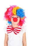 Little clown Royalty Free Stock Photo