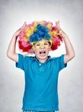 Little clown Stock Photos
