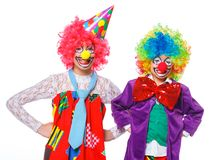 Little clowns Stock Photos