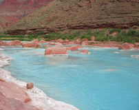Little Colorado River. In Arizona Royalty Free Stock Photography