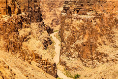 Little Colorado River Canyon Royalty Free Stock Images