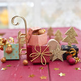 Little colorful presents Royalty Free Stock Photos
