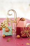 Little colorful presents Stock Image
