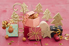 Little colorful presents Royalty Free Stock Images
