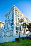 Little condo building. In Surfside, Florida royalty free stock photos