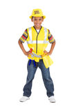 Little construction builder Royalty Free Stock Images
