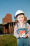 Little constructor Stock Photography