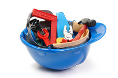 Little constructor's tools Royalty Free Stock Images
