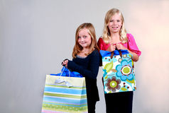 Little Consumers Stock Photo