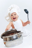 Little cook. Stock Photos