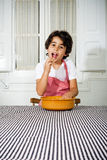 Little cook Stock Image