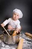 Little cook Royalty Free Stock Photo