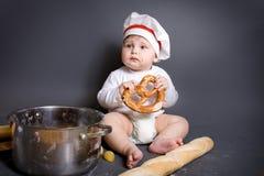 Little cook Stock Photos