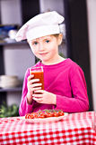 Little cook Stock Images