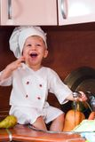 Little cook Royalty Free Stock Images