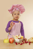 Little cook. Stock Photography