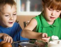Little cooks Stock Image