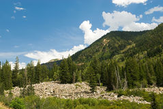 Little Cottonwood Canyon Royalty Free Stock Photo