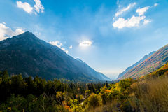 Little Cottonwood Canyon Stock Images