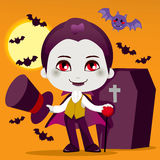 Little Count Dracula Royalty Free Stock Photo
