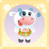 Little Cow Stock Photography