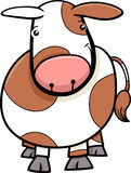 Little cow or calf cartoon Stock Photo