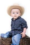 Little cowboy Royalty Free Stock Photos